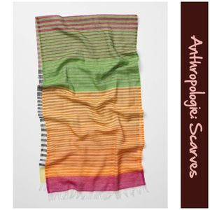 """Anthro """"Fully Striped Scarf"""""""